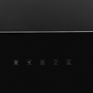 Hotpoint PHVP8.7FLTK Built In Chimney Cooker Hood - Black - PHVP8.7FLTK_BK - 4