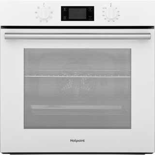 Hotpoint Class 2 SA2540HWH Built In Electric Single Oven - White - SA2540HWH_WH - 1