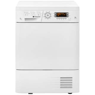 Hotpoint TDHP871RP 8Kg Heat Pump Tumble Dryer - White - A+ Rated - TDHP871RP_WH - 1
