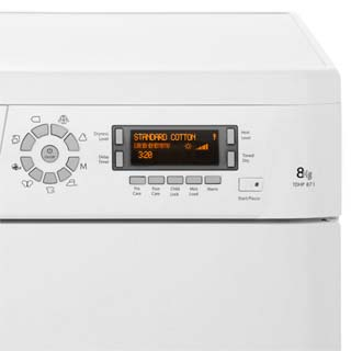 Hotpoint TDHP871RP 8Kg Heat Pump Tumble Dryer - White - A+ Rated - TDHP871RP_WH - 3