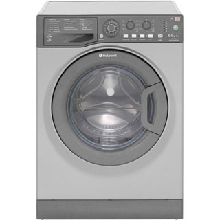 Hotpoint WDAL8640G Washer Dryer - Graphite - WDAL8640G_GH - 1