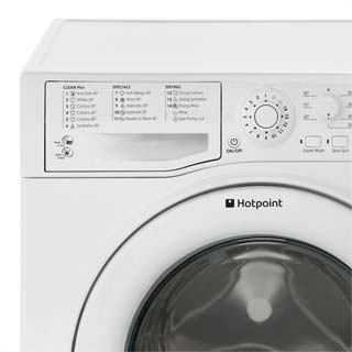 Hotpoint WDAL8640P Washer Dryer - White - WDAL8640P_WH - 3