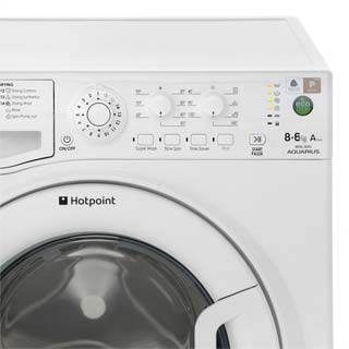 Hotpoint WDAL8640P Washer Dryer - White - WDAL8640P_WH - 4