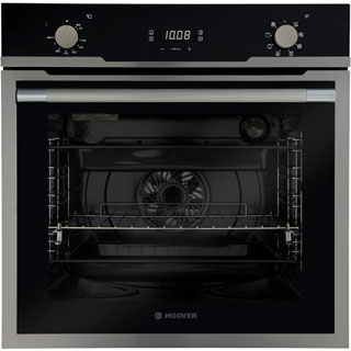 Hoover H-OVEN 500 HOZ3150IN Built In Electric Single Oven - Stainless Steel / Black Glass - HOZ3150IN_SS - 1
