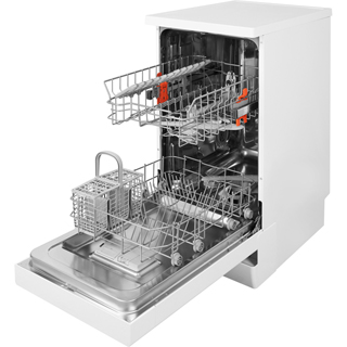 Hotpoint HSFE1B19UK Slimline Dishwasher - White - HSFE1B19UK_WH - 3