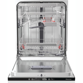 Hisense HV6131UK Built In Standard Dishwasher - Black - HV6131UK_BK - 3
