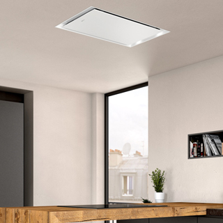 NEFF N50 I95CAQ6W0B Built In Integrated Cooker Hood - White Glass - I95CAQ6W0B_WH - 5
