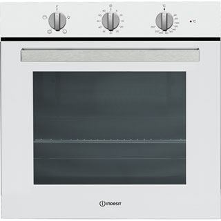 Indesit Aria IFW6230WH Built In Electric Single Oven - White - IFW6230WH_WH - 1