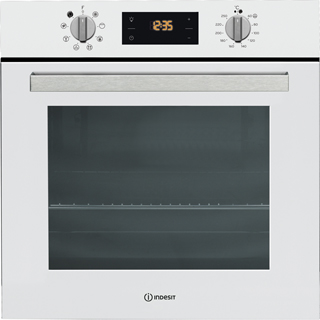 Indesit Aria IFW6340WH Built In Electric Single Oven - White - IFW6340WH_WH - 1