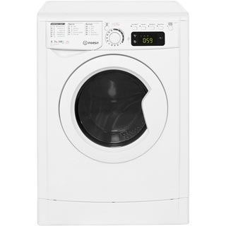 Indesit My Time EWDE7145W Washer Dryer - White - EWDE7145W_WH - 1