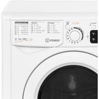 Indesit My Time EWDE7145W Washer Dryer - White - EWDE7145W_WH - 3