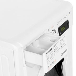 Indesit My Time EWDE7145W Washer Dryer - White - EWDE7145W_WH - 5