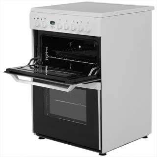 Indesit Advance ID60C2XS Electric Cooker - Stainless Steel - ID60C2XS_SS - 2