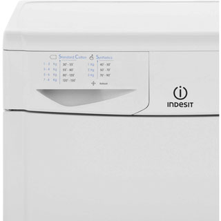 Indesit Eco Time IDC8T3B 8Kg Condenser Tumble Dryer - White - B Rated - IDC8T3B_WH - 3