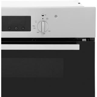 Indesit Aria IDU6340IX Built Under Electric Double Oven - Stainless Steel - IDU6340IX_SS - 4