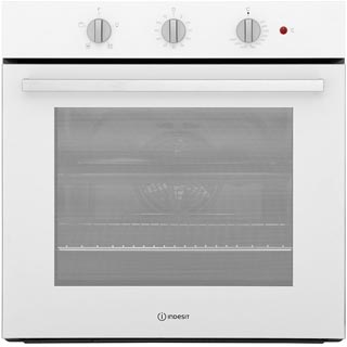 Indesit Aria IFW6330WH Built In Electric Single Oven - White - IFW6330WH_WH - 1