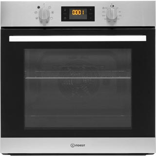 Indesit Aria IFW6544HIX Built In Electric Single Oven - Stainless Steel - IFW6544HIX_SS - 1
