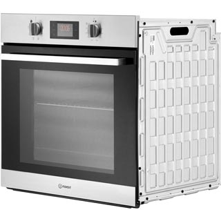 Indesit Aria IFW6544HIX Built In Electric Single Oven - Stainless Steel - IFW6544HIX_SS - 4