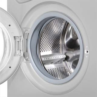 Indesit Eco Time IWDC6125S Washer Dryer - Silver - IWDC6125S_SI - 5