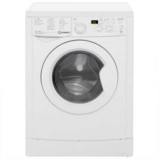 Indesit Eco Time IWDD7143 Washer Dryer - White - IWDD7143_WH - 1