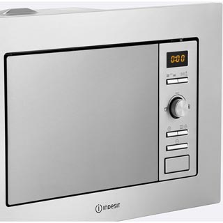 Indesit MWI122.2X Built In Microwave - Stainless Steel - MWI122.2X_SS - 4