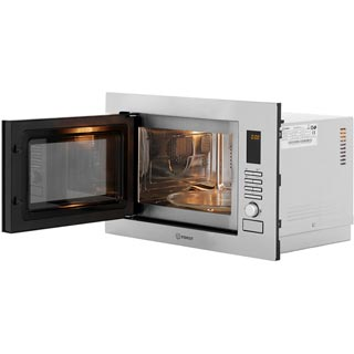 Indesit MWI222.2X Built In Microwave - Stainless Steel - MWI222.2X_SS - 4