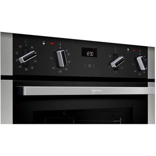 NEFF N50 J1ACE4HN0B Built Under Electric Double Oven - Stainless Steel - J1ACE4HN0B_SS - 3