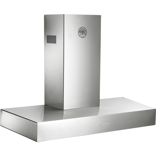 Bertazzoni Master Series K100-CON-X-A Built In Chimney Cooker Hood - Stainless Steel - K100-CON-X-A_SS - 1