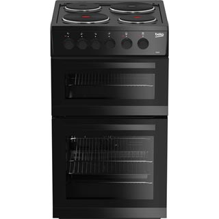 Beko KD533AK Electric Cooker - Black - KD533AK_BK - 1