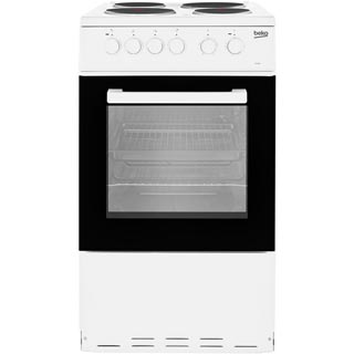 Beko KS530W Electric Cooker - White - KS530W_WH - 1