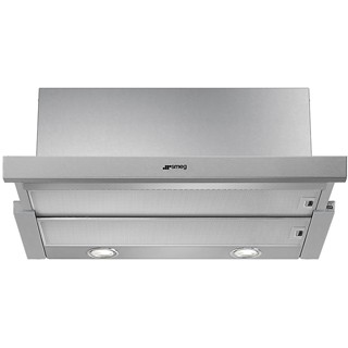 Smeg KSET600XE Built In Integrated Cooker Hood - Grey - KSET600XE_GY - 1