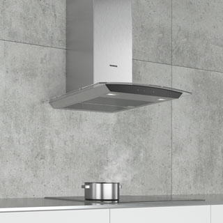 Siemens IQ-300 LC67AFM50B Built In Chimney Cooker Hood - Stainless Steel - LC67AFM50B_SS - 3