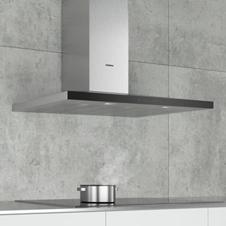 Siemens IQ-300 LC97QFM50B Built In Chimney Cooker Hood - Stainless Steel - LC97QFM50B_SS - 3