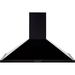 Leisure H92PK Built In Chimney Cooker Hood - Black - H92PK_BK - 1