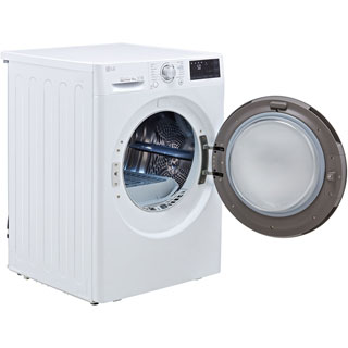 LG J6 FDJ608W Wifi Connected 8Kg Heat Pump Tumble Dryer - White - A+++ Rated - FDJ608W_WH - 4