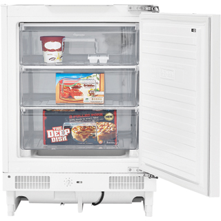 Fridgemaster MBUZ6097M Built Under Under Counter Freezer - White - MBUZ6097M_WH - 1
