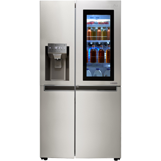 LG InstaView™ Door-in-Door™ GSX961NSVZ American Fridge Freezer - Stainless Steel - GSX961NSVZ_SS - 1