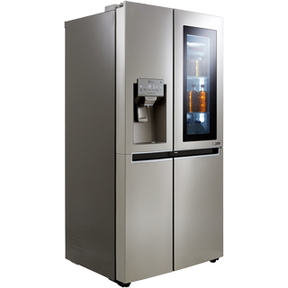 LG InstaView™ Door-in-Door™ GSX961NSVZ American Fridge Freezer - Stainless Steel - GSX961NSVZ_SS - 2
