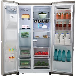 LG InstaView™ Door-in-Door™ GSX961NSVZ American Fridge Freezer - Stainless Steel - GSX961NSVZ_SS - 3