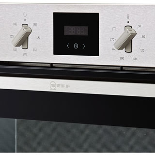 NEFF N30 B1GCC0AN0B Built In Electric Single Oven - Stainless Steel - B1GCC0AN0B_SS - 4