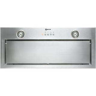 NEFF N50 D57MH56N0B Built In Canopy Cooker Hood - Stainless Steel - D57MH56N0B_SS - 1