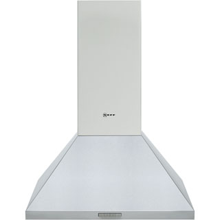 NEFF N30 D62PBC0N0B Built In Chimney Cooker Hood - Stainless Steel - D62PBC0N0B_SS - 1