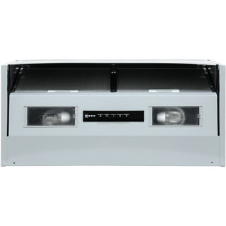 NEFF N30 D64MAC1X0B Built In Integrated Cooker Hood - Silver - D64MAC1X0B_SI - 1