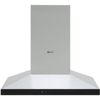 NEFF N50 D64QFM1N0B Built In Chimney Cooker Hood - Stainless Steel - D64QFM1N0B_SS - 1