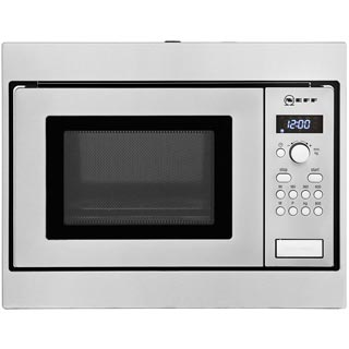 NEFF Classic Collection 3 H53W50N3GB Built In Microwave - Stainless Steel - H53W50N3GB_SS - 1
