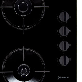 NEFF N30 T26CR51S0 Built In Gas Hob - Black - T26CR51S0_BK - 3