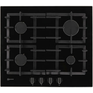 NEFF N70 T26CS49S0 Built In Gas Hob - Black - T26CS49S0_BK - 1