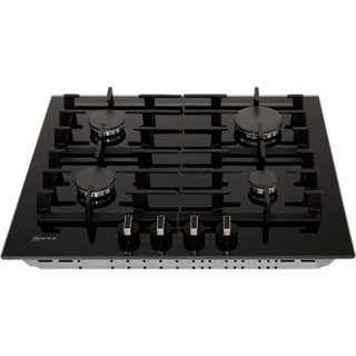 NEFF N70 T26CS49S0 Built In Gas Hob - Black - T26CS49S0_BK - 3