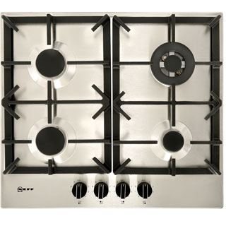NEFF N70 T26DS59N0 Built In Gas Hob - Stainless Steel - T26DS59N0_SS - 1
