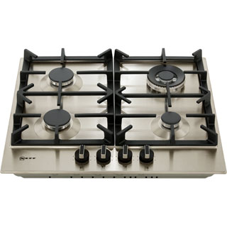NEFF N70 T26DS59N0 Built In Gas Hob - Stainless Steel - T26DS59N0_SS - 5